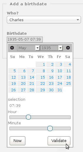 Plugin Birthdate: first step is to add birthdates